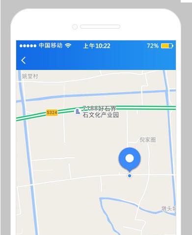 附近工作地图